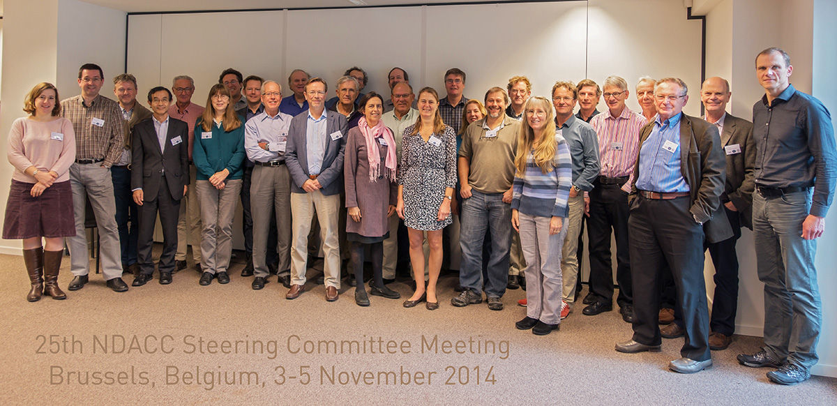 NDACC steering committee photo