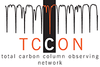TCCON Cooperating Network logo